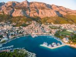Beautiful Makarska, only 10 minutes drive