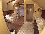 Alternate view, master suite bathroom area