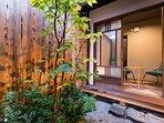 Garden and tea room
