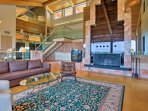 This exceptional home is a luxury retreat.