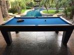 Enjoy playing pool, table tennis, darts or horseshoes.