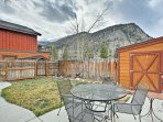 Enjoy beautiful mountain views from this 3-bedroom, 1.5-bath vacation rental townhouse.