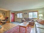 Switch into vacation mode as you enter the charming, open interior of this property.