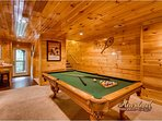 Pool Tableand Wet Bar