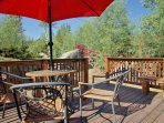 Back Deck with Outdoor Dining