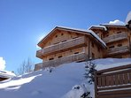 Chalet vue aval