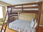 2nd Bedroom Full/Full Bunk