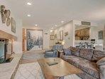 SkyRun Property - '1655 Quicksilver' - Living Room