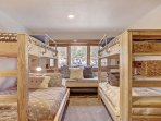 Guest Bedroom - Bunk beds.