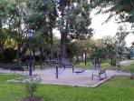 Jardines de Viveros: zona de ejercicio para adultos