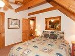 Upstairs bedroom at Hummingbird Hollow.