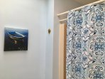 Full bath off hallway with tub/shower combo - 11 Cranwood Road Harwich Cape Cod New England Vacation Rentals