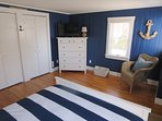 Another view of Bedroom #2-Flat Screen TV- 5 Sea Breeze Avenue Harwich Port Cape Cod - New England Vacation Rentals