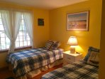 Bedroom #2 with 2 Twin Beds - 11 Cranwood Road Harwich Cape Cod New England Vacation Rentals