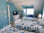 another view of bedroom # 3-flat screen Tv-5 Sea Breeze Avenue Harwich Port Cape Cod - New England Vacation Rental
