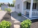 Path off of porch to back patio- 5 Sea Breeze Avenue Harwich Port Cape Cod - New England Vacation Rentals