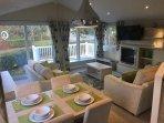 Luxury Holiday Lodge at Seton Sands Near Edinburgh & On Golf Coast