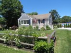 This cute cottage is just up the road from Nauset Beach.