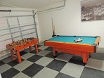 The games room at Oleander Villa.