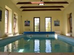 Indoor pool available all year round