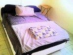 Bedroom 1 w/full bed