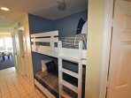 Twin Bunk Beds in Hall Area