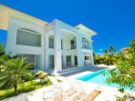 Your private patio and pool area