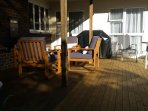 More of downstairs deck