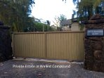 Home is fenced and gated for ultimate privacy.