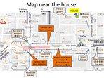 Map of neighborhood (English)