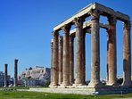 10 min. walk from the Temple of Olympian Zeus
