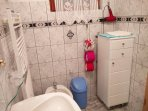 Shower with WC and Bidet