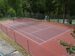 Terrain de tennis gratuit