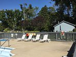 Outdoor heated pool available Memorial Day thru Labor Day, plus hot tub