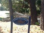 Walking sidewalks/bike trails to Coligny Plaza