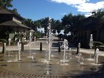 Coligny Beach Park Fountains!