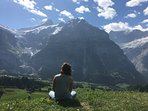 The Jungfrau-Region offers countless hikes in stunning nature.