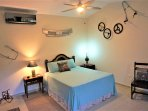 BUNGALOW: 4TH BEDROOM 'WHEELS', ALL DECORATED WITH CAR AND BIKE ANTIQUES