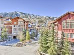 You're just a stones throw away from the slopes while staying here.