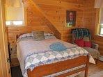 Upper level Bedroom #1 - Double bed