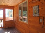 Great covered screened in porch