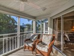 Enclosed Lanai -  the enter from Master Suite or Great Room.  Open sliders and enjoy the Breezes