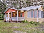 Begin your coastal retreat at this 2-bed, 1-bath vacation rental house in St. Marys!