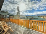 Photos simply don't capture the spectacular views of the Continental Divide, Winter Park Ski Resort, and the Fraser...