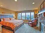 Rest easy in the main-floor River suite.