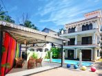 9 BHK villa with private swimming pool and modern fittings