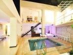 Exelente y agradable ambiente para eventos familiares para hasta 50 personas.