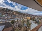 Views of Old Town Park City and Park City Mountain Resort
