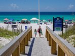 2 beach access across - The beach is calling your name!