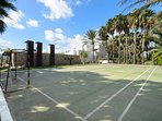 Private sports court